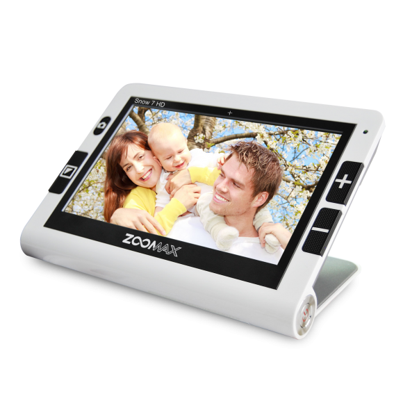 Zoomax Snow Portable Handheld Electronic Magnifier For The Visually Impaired