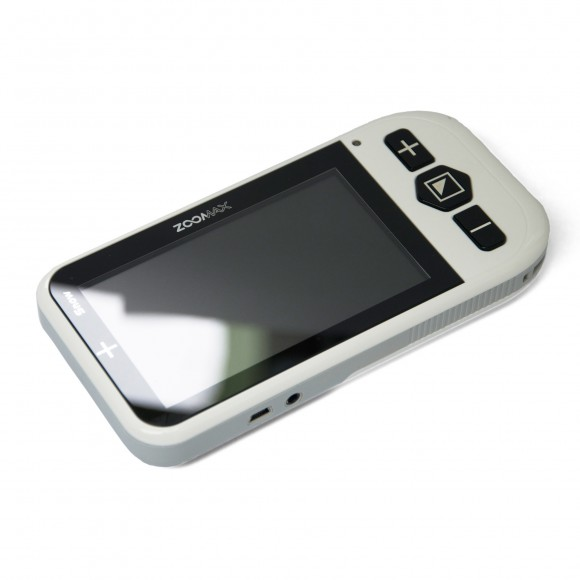 Zoomax Snow Handheld Electronic Magnifier