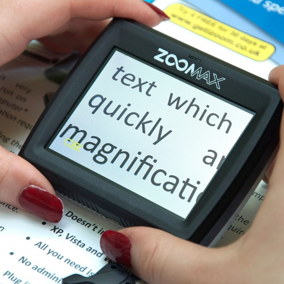 Zoomax Butterfly Hand Held Magnifier For Reading